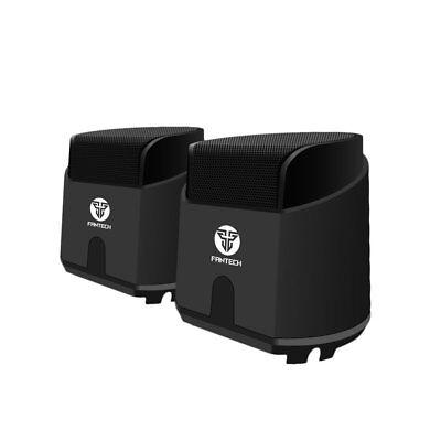 Fantech Gs201 Usb Computer Speakers Subwoofer Heavy Bass Media Speaker Lot Uls