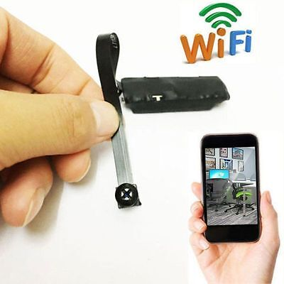 Wireless Nanny Cam WIFI IP Spy Pinhole DIY Digital Video Camera Mini Micro DVR