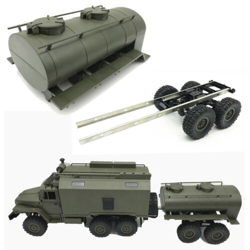 WPL Remote Control Army Green Oil Tank for WPL B24 B16 B36 Military RC Car Truck