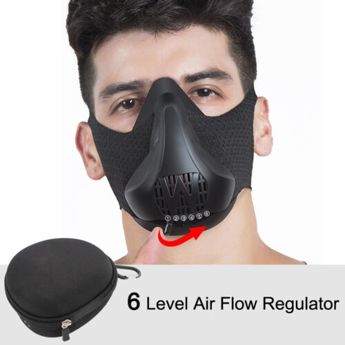 Running Workout Mask Resistance High Altitude Cardio Fitness Exercise Sport Mask