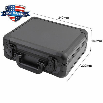 Aluminum Clear Carrying Case for DJI Mavic Pro Drone Quadcopter