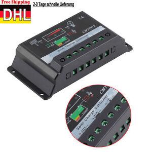 30A 12V 24VAuto Switch MPPT Solar Panel Battery Regulator Charge Controller  DE