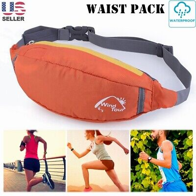 Happy Panda Bamboo Sport Waist Bag Fanny Pack Adjustable For Run