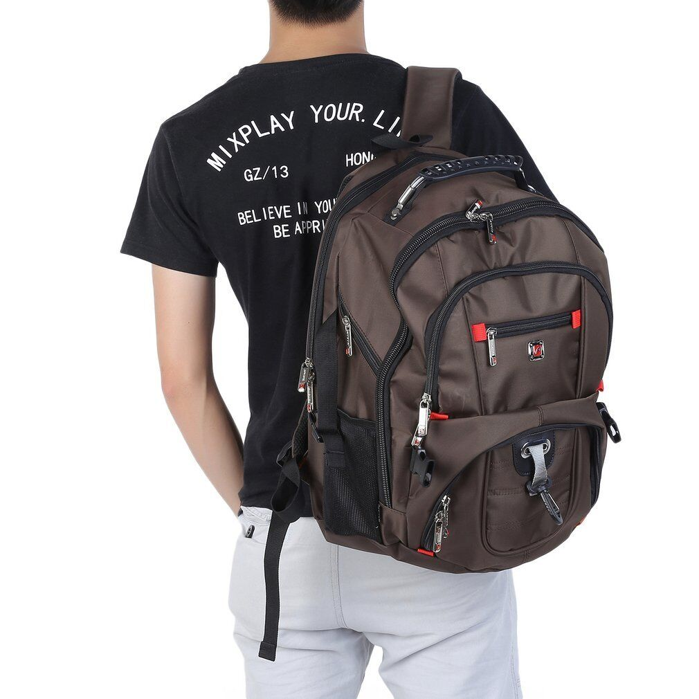 Men Woman Rucksack, 15.6inch Laptop Notebook Backpack, Leisure Shoulder Bag,  Hiking Travel School Bag, 9dd4a83ee3