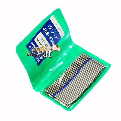 100pcs Dental Diamond Sf-21 Fg High Speed Burs For Polishing Smoothing 50pcsbag