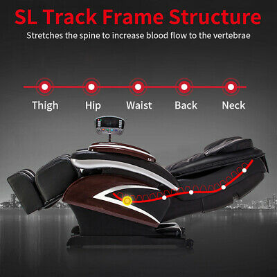 New Electric Full Body Shiatsu Massage Chair Recliner Heat Stretched Foot 07C Electric Massage Chairs