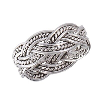 New .925 Sterling Silver Detailed Celtic Knot Weave Toe Ring Sizes 1.5-5.5 ()