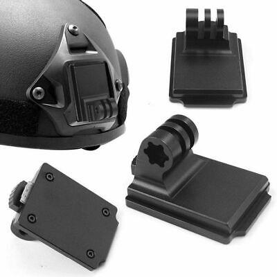 Aluminum Fixed Helmet Mount for Camera Gopro Hero 5 4 3 3+ 2 1 NVG Mount Base US