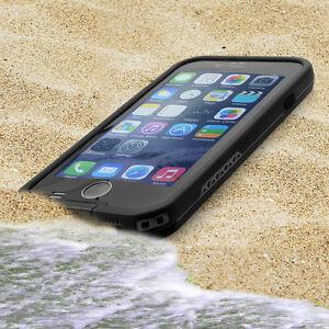 Outdoor Wasserdicht  für iPhone 6/6s Schwarz Handy Case Tasche Schutzhülle Cover