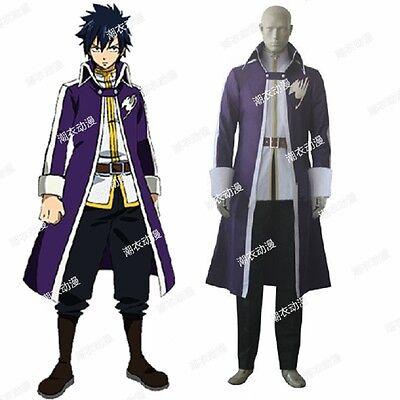 Fairy Tail Gray Fullbuster Kostüm (Fairy Tail Gray Fullbuster cosplay kostüm)