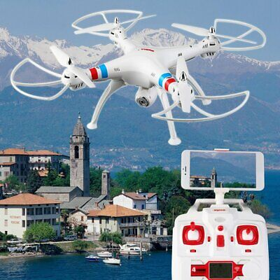 Syma X8W RC Quadcopter Multicopter Helicopter Drone With HD Camera FPV WIFI Xmas
