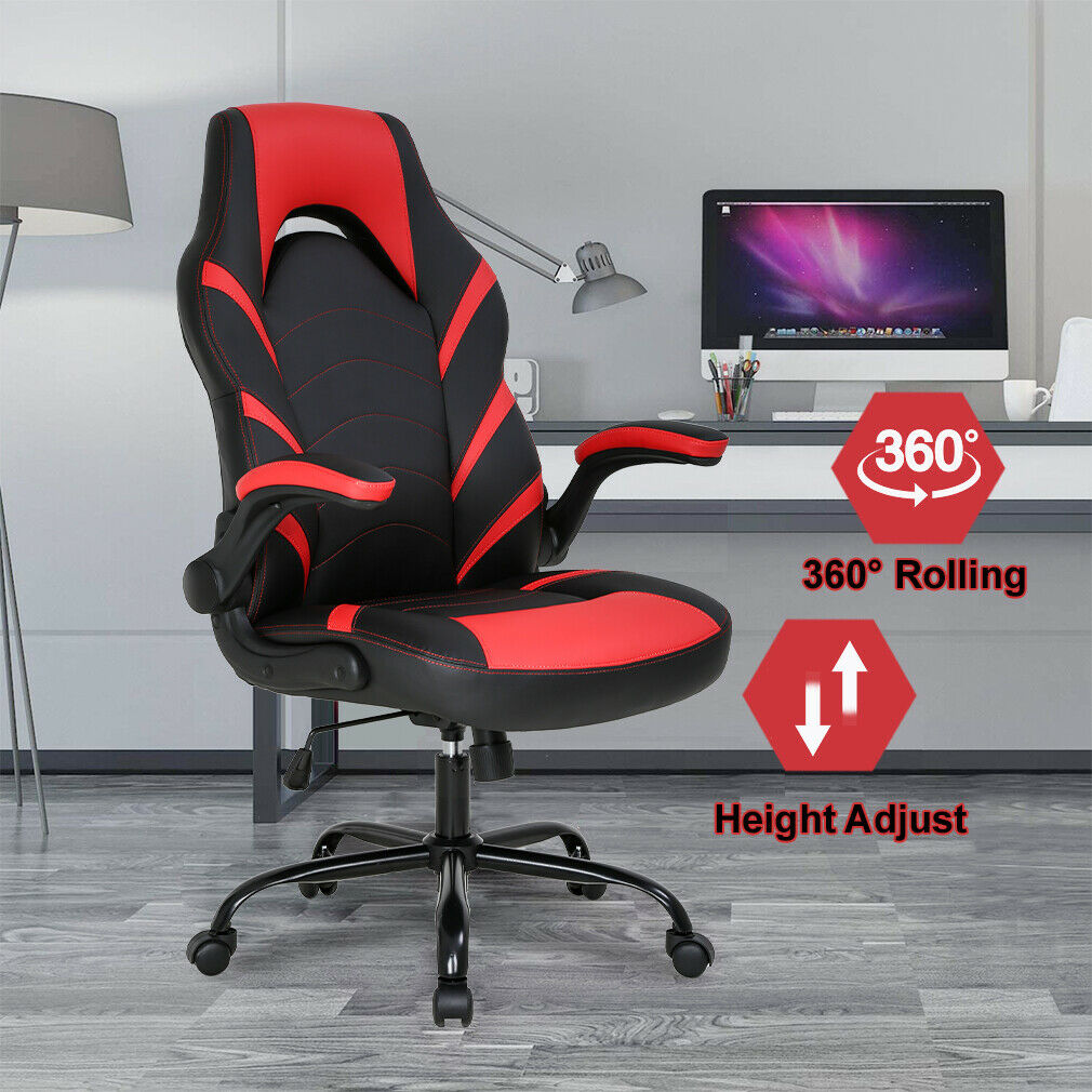 Gaming Chair Home Office Chair PC Computer Chair Rolling Swivel Desk Chair Business & Industrial