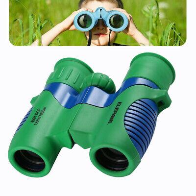 Compact Kids Binoculars Toy for Boys Girls with High-Resolution Real Optics (Optics For Kids)
