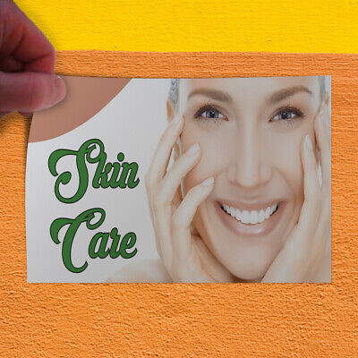 Decal Sticker Skin Care 1 Style B Business Skin Care Outdoor Store Sign White
