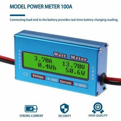 Digital Monitor Lcd Watt Meter 60v100a Dc Ammeter Rc Battery Amp Analyzer M