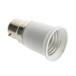 B22 to E27 Socket Light Bulb Lamp Holder Adapter Plug Extender Lampholder  OK
