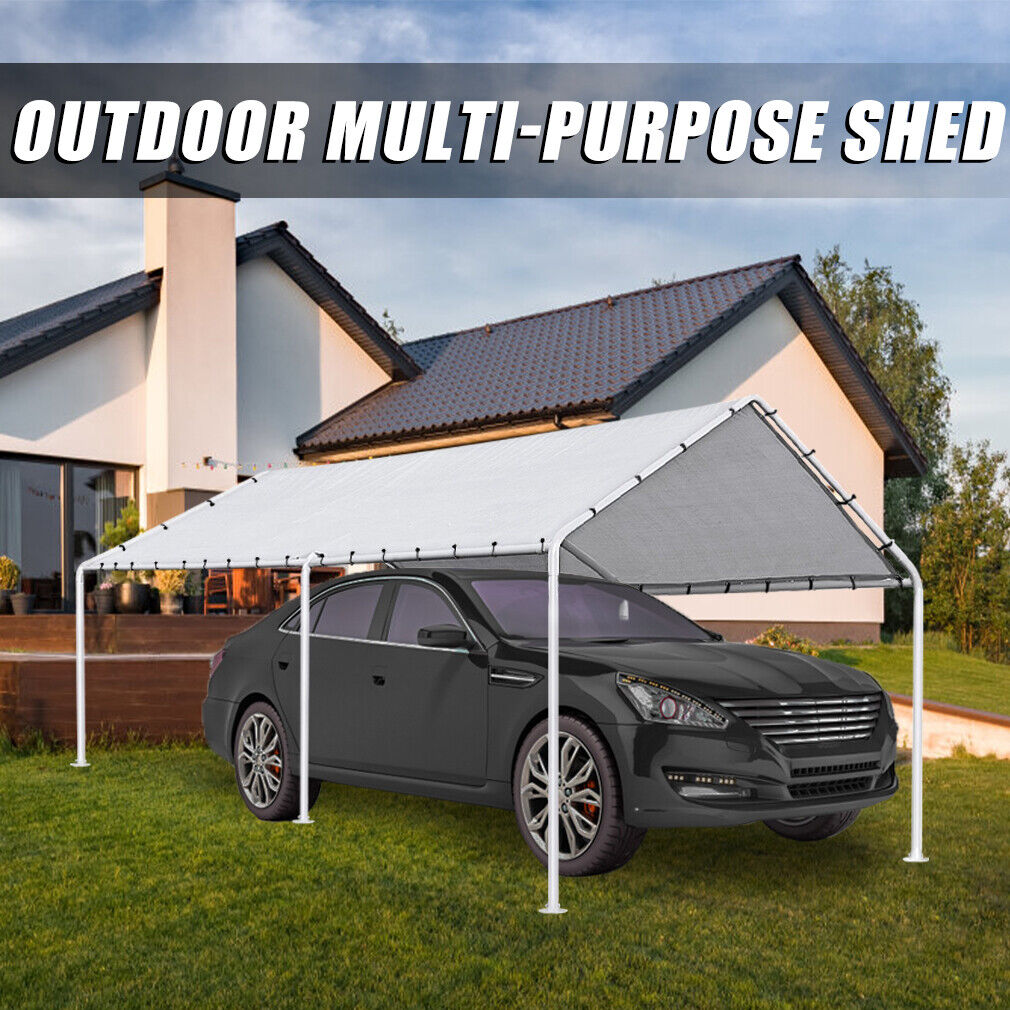 Carport Car port Party Tent Car Tent 10×20 Canopy Tent Heavy Duty Carport Canopy Awnings & Canopies