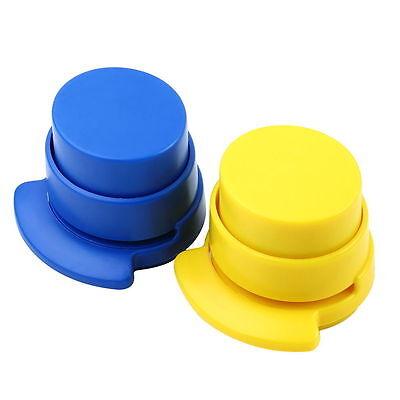 Office Home Staple Free Stapleless Stapler Paper Binding Binder Paperclip