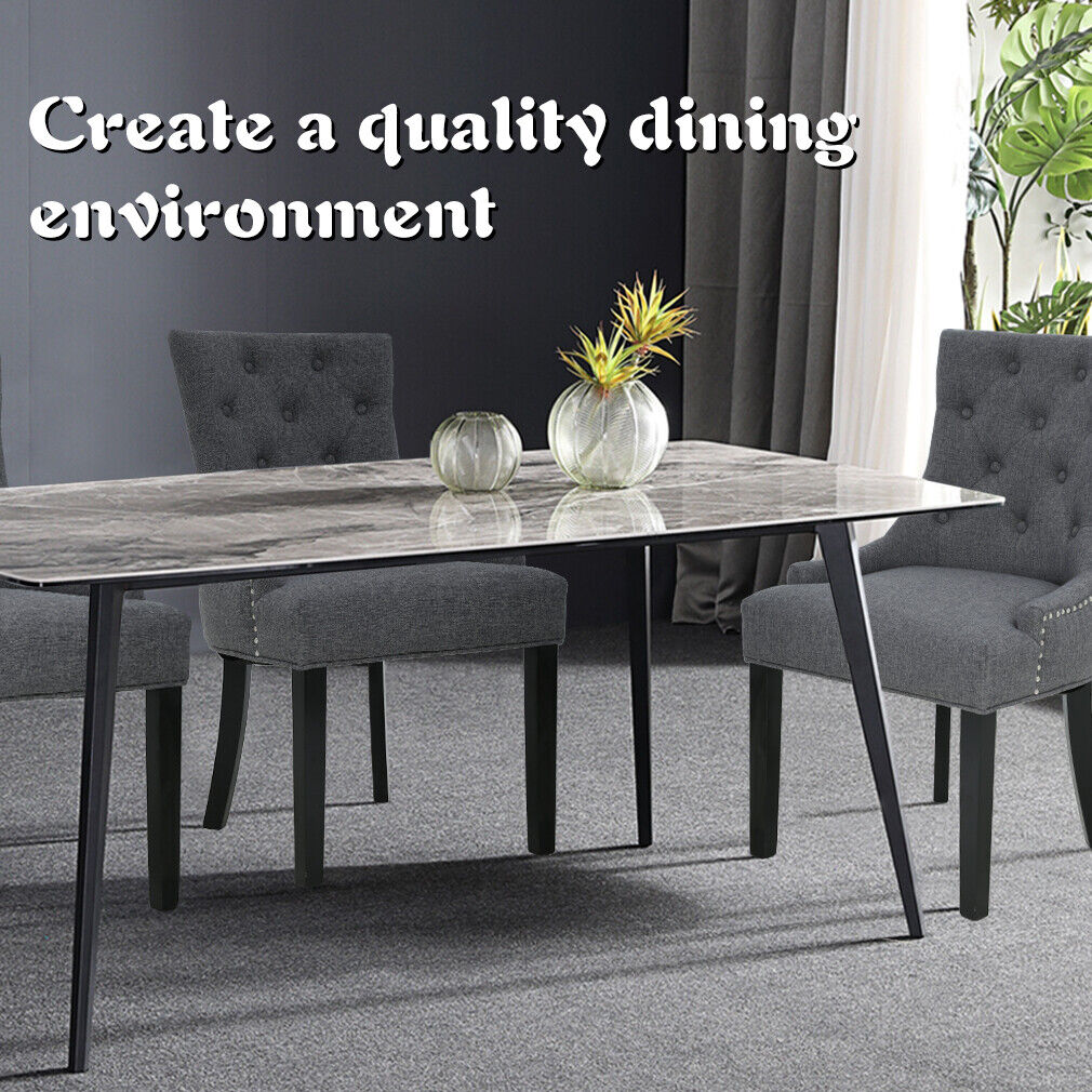 Dining Chairs Set of 2 Chairs for Living Room Dining Table Chairs Dining Room Dining Sets