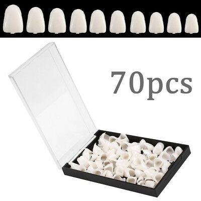 70pcs Dental Temporary Crown Veneers For Anterior Front Teeth Whitening Us Stock