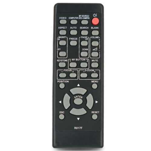 Projector Remote Control HL02772 for Dukane ImagePro 8919H, 8920H, 8921H, 8922H