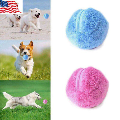 Magic Roller Ball Toy Automatic Roller Ball Magic Ball Dog Cat Pet Electric Toy