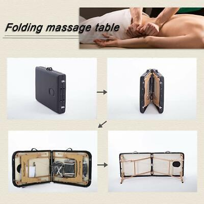 New BestMassage 2.5″ Pad PU Portable Massage Table Facial Spa Bed W/Carry Case Health & Beauty