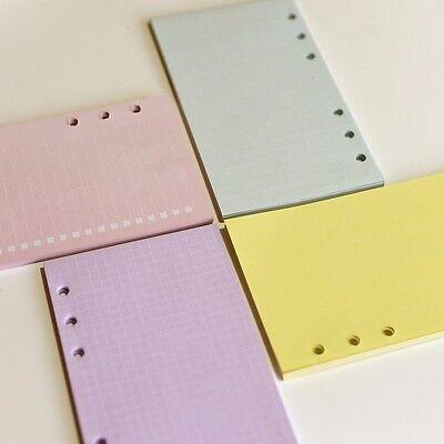 A5a6 To Doblankruledlattice Planner Diary Insert Refill Organiser 40 Sheets