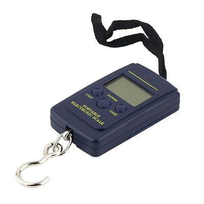 Portable 40kg/10g Electronic Hanging Fishing Digital Pocket Hook Scale Weight UE