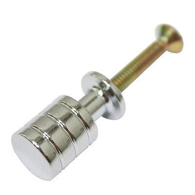 10 pcs Chrome Metal Solid 12mm Mini Knobs Small Box Cabinet Drawer Pulls KR-3005