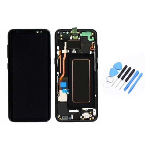 43f68b5b3 LCD Display Screen Digitizer + Frame Assembly For Samsung Galaxy S8 ...