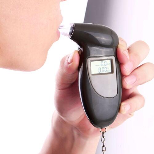 Pro Digital Alcohol Breath Tester Breathalyzer Analyzer Detector Keychain LS
