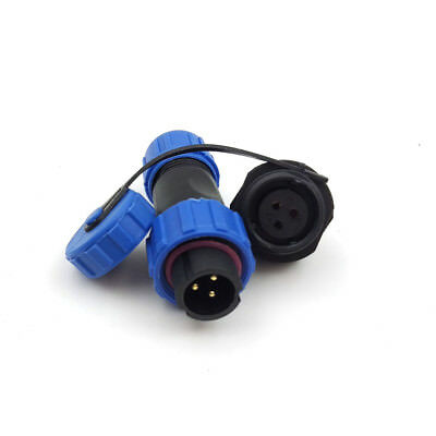 3pcs 3pin Waterproof Connector Ip68 High-voltage Connector Solar Charge Led