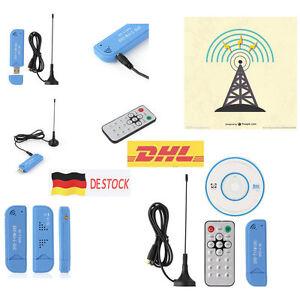 USB 2.0 Digital DVB-T SDR+DAB+FM HDTV TV Tuner Receiver Stick RTL2832U+R820T2 DE