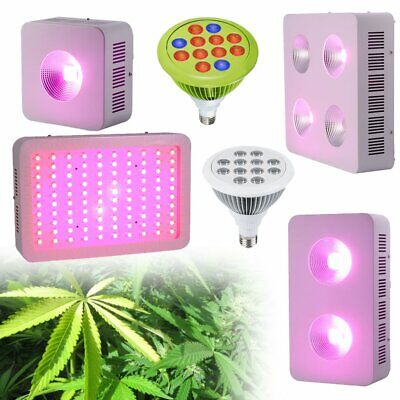 1224100200400w Cob Led Grow Light For Hydroponic Indoor Plants Growing F1