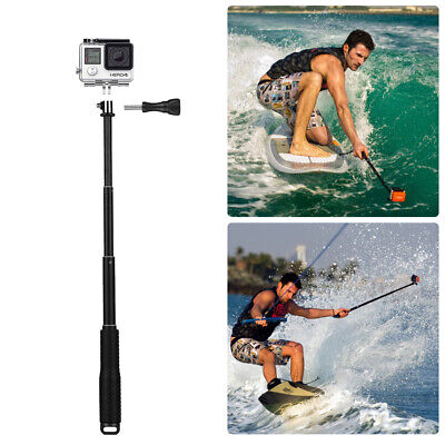 Wasserdicht Stativ Selfie Stick Stange Einbeinstativ für GoPro Hero Kamera 6 5