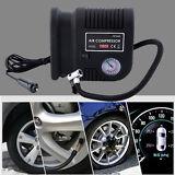 Air Compressor Portable Pump 300 PSI Auto Car SUV Tire 12V volt + 3 adapters MG