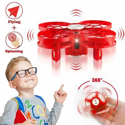 Flying Toy Drone for Kids, WEW Hand Operated Mini Drone Gift, Office Stress Reli