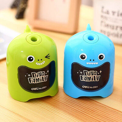 Electric Automatic Pencil Sharpener Desktop Kids Student Art School Office Cute