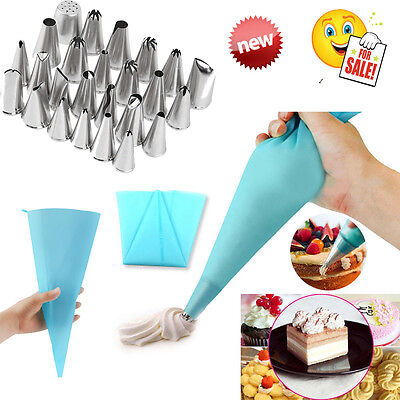Pcs Icing Piping Nozzles Pastry Tips Cake Sugarcraft Decorating