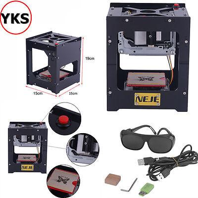 1000mW DIY Laser Engraving Machine Graviermaschine Lasergravur Carving Printer @