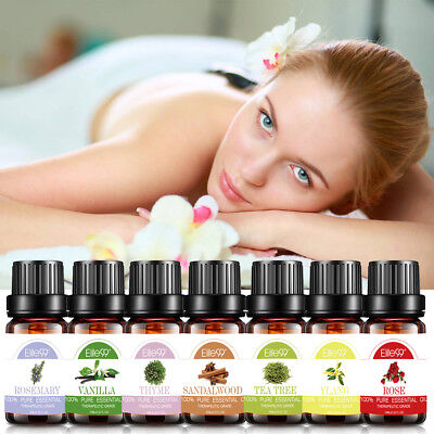 Купить Elite99 - Essential Oils Pure Aromatherapy Natural Oil Organic Aroma Diffuser Burner 10ml