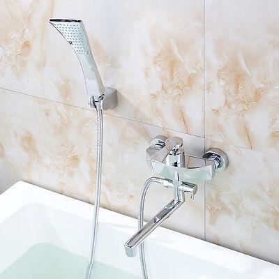 Handbrause + Badewannenarmatur Einhebelmischer Wannenarmatur Badarmatur Duschset