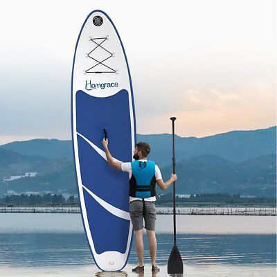 Inflatable Stand Up Paddle Board (6 Inches Thick) Universal SUP Wide Stance MA