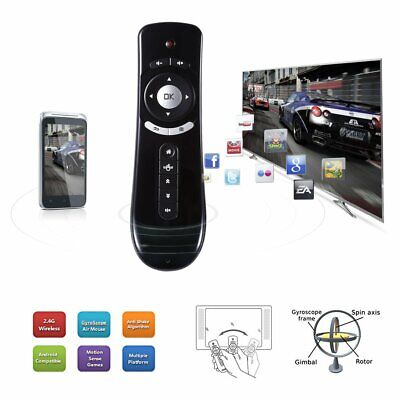 2.4GHz AF106 For Android TV Box Air Mouse Remote Control 3D Sense Gyro Wireless#