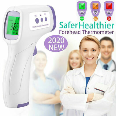 IR Infrared Digital Thermometer Medical Non-Contact Body Forehead Gun Baby Adult
