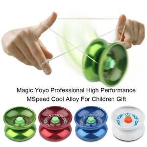 Magic YoYo Aluminum Professional Yo-Yo Bundle Bearing Ball Toy Gift Kids Child