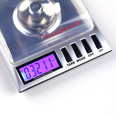NF 0.001g/20g Digital LCD Balance Weight Milligram Pocket Jewelry Diamond Scale