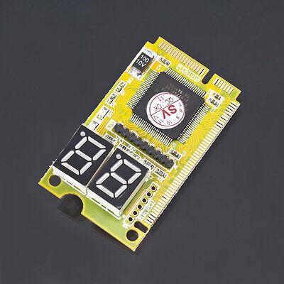 Mini 3 in1 PCI PCI-E LPC PC Laptop Analyzer Tester Diagnostic Post Test Card FEM