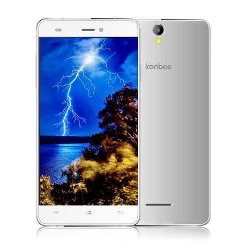 "Android Phone - Koobee A2 13.0MP 5.0"" Dual SIM 2+16GB Android 6.0 Unlocked 4G Smart Phone Metal"